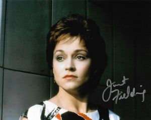"Janet Fielding ""Tegan"" DOCTOR WHO Genuine Signed Autograph 10 x 8 COA 11300"